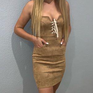 Stella Laguna Beach tan dress